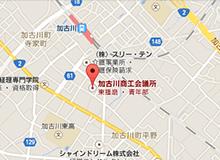 商工会議所の地図