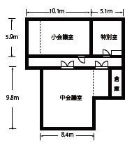 地下1階間取り図